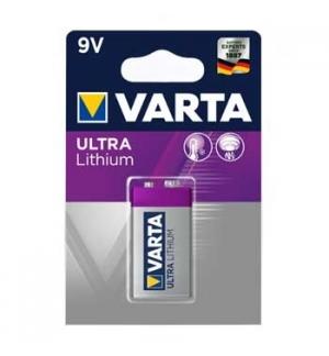 Pilha Lithium profissional Varta (6122) 9V-1200mAh 1un