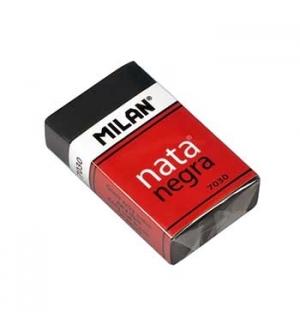 Borracha Nata Negra Milan 39x24x10 1un