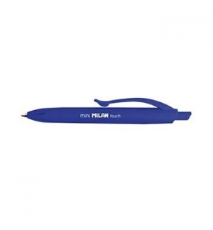 Esferografica Milan Mini P1 Touch Azul - 1un