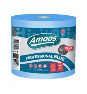 Rolo Toalhas Mão Azul 133mtsx23,4cm 2Fls 1 Rolo