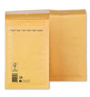 Envelopes Air-Bag 120x215 Kraft  Nº 00  un