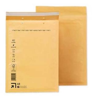 Envelopes Air-Bag 180x265 Kraft  Nº 1  un
