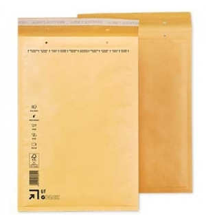 Envelopes Air-Bag 220x340Kraft Nº 3un