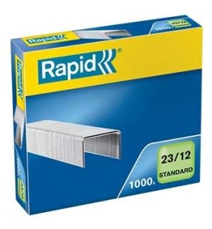Agrafos 23/12 Rapid (60/90 Folhas) Cx1000 - 1un