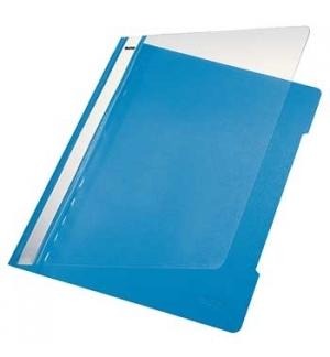 Classificador Plastico Capa Transp Leitz 4191 Azul Claro 25u