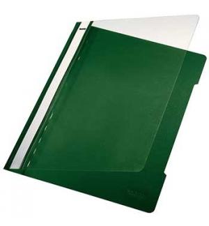 Classificador Plastico Capa Transp Leitz 4191 Verde Cx25un
