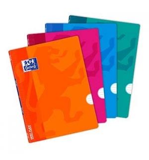 Caderno Agrafado Oxford Openflex A5 Pautado 90gr 48Fls 4Cor