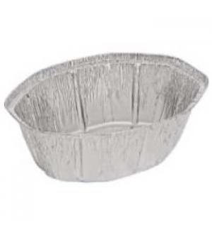 Embalagem Alimentar Alumínio Oval 2400ml 25un