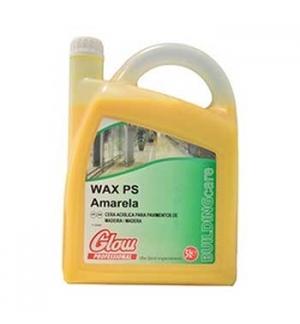 Cera Acrilica para pavimentos  Amarela GLOW 5 Litros