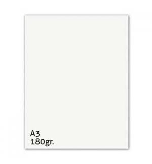 Cartolina 180gr 50 Folhas A3 Branco