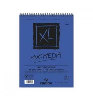 Bloco Espiralado Canson XL Mix Media A5 300gr 30F
