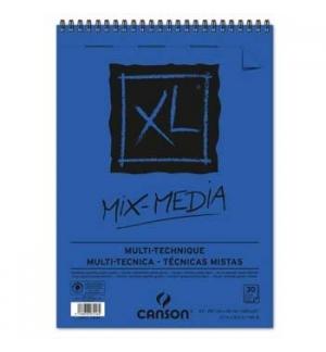 Bloco Espiralado A3 Canson XL Mix Media 300gr 30F