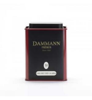 Chá Lata Earl Grey Vert Calabria Nº 59 Dammann 100gr