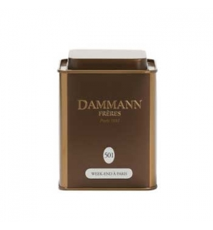 Cha Lata Week-end a Paris Dammann Nº501 (100gr)