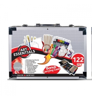 Kit Pinturas Art Essentials Cx Metal 122un