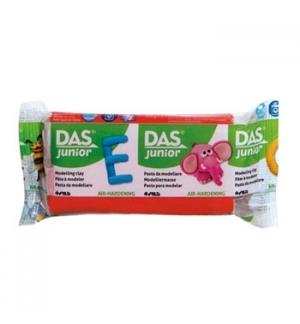 Pasta de modelar DAS Junior Vermelho 100gr