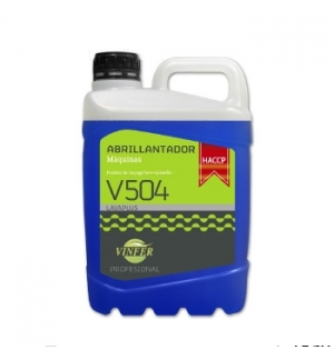 Abrilhantador Máquina Loiça Vinfer HACCP 5L (Águas Duras)