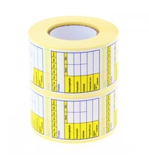 Etiquetas Pre-impressas (Congelacao) 40x45mm 2 Rolos 2x500un