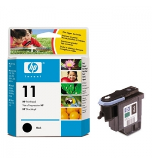 Cabeça Impressão HP 11 Preto C4810A 8ml 16000 Pág.