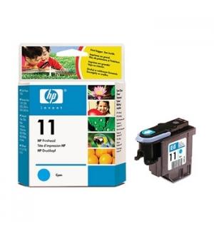 Cabeça Impressão HP 11 Azul C4811A 8ml 2400 Pág.
