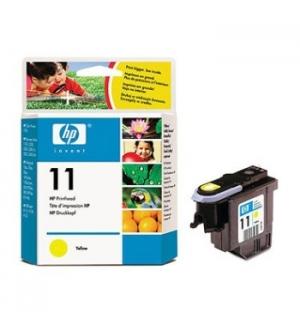 Cabeça Impressão HP 11 Amarelo C4813A 8ml 2400 Pág.