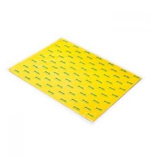 Papel Seda 51x76cm Pack 25 Folhas Amarelo