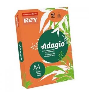 Papel Fotocopia Adagio(cd21) A4 80gr Laranja Intenso 1x500