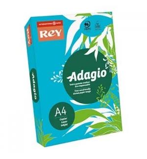 Papel Fotocopia Adagio(cd51) A4 80gr (Azul Intenso) 1x500Fls