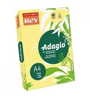 Papel Fotocopia Adagio(cd15) A4 80gr Amarelo Fluorescente