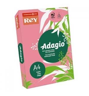 Papel Fotocopia Adagio(cd13)A4 80gr Rosa Fluorescente 1x500F