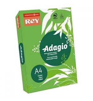 Papel Fotocopia Adagio(cd52)A4 80gr (Verde Intenso) 1x500Fls