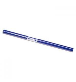 Papel Lustro Rolo 25 Folhas 50x65 Azul Forte