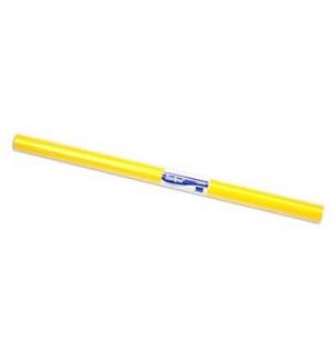 Papel Lustro Rolo 25 Folhas 50x65 Amarelo
