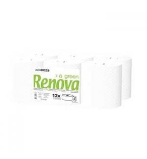 Papel Higienico (Jumbo) 120mts 2Fls RenovaGreen (Pack12)