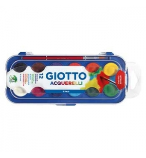 Aguarelas Giotto Cores Sortidas Cx 12