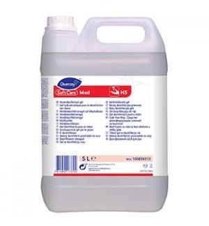 Gel Desinfetante Soft Care Med H5 (base álcool) 5Litros