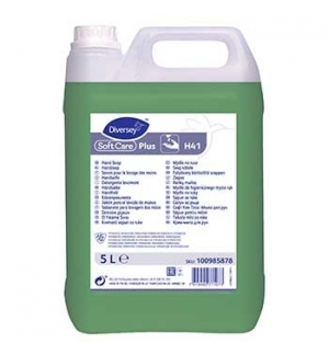 Sabonete Soft Care Plus H41 C/Agentes Antimicrobianos 5L