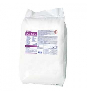 Detergente em Pó OPTIMAX c/ Branqueador Lavagem Roupa 20Kg