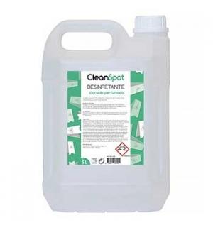 Detergente desinfetante Clorado Perfumado LX Cleanspot (5Lt)