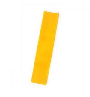 Papel Crepe 50x250cm Rolo Cor Amarelo Torrado