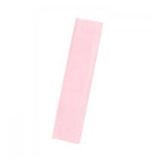 Papel Crepe 50x250cm Rolo Cor Rosa Palido
