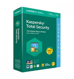 KASPERSKY Total Security 2020 3Users_1Ano