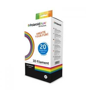 Pack Filamentos Polaroid para Canetas 3D (PLA 20 cores)
