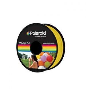 Filamento Polaroid Universal PLA 1.75mm 1Kg AmareloTransp.