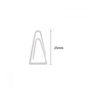 Clips N 03 25mm Triangular cx100 - 1un