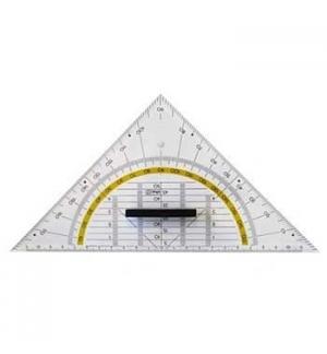 Esquadro Geometrico Tipo Aristo 25cm - 1un