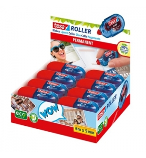 Cola Mini Roller Colagem Permanente Tesa 5mmx6mts 1 Uni