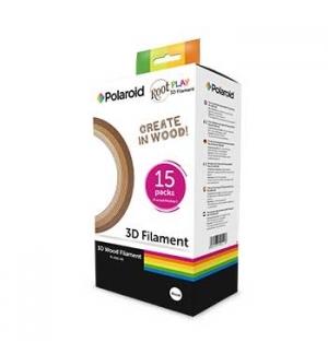 Pack Filamentos Polaroid para Canetas 3D (WOOD 3 tons)