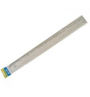 Regua Plastico 40cm - 1un