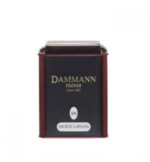 Chá Lata Smokey Lapsang Nº 496 Dammann 100gr